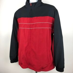 Reebok Men's Jacket Size L Red D195